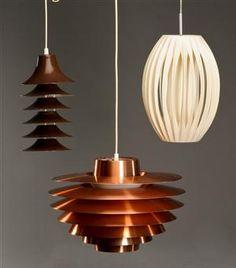 3 Vintage Designer Lamps