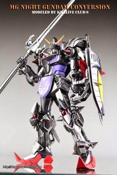 GUNDAM GUY: MG 1/100 Night Gundam - Conversion Build