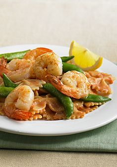 """Creamy Tomato Pasta with Shrimp is a fan favorite and was described as """"absolutely delicious""""."""