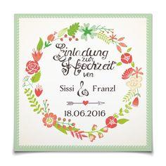 Hochzeitseinladung Blütenkranz in Koralle - Postkarte quadratisch #Hochzeit #Hochzeitskarten #Einladung #kreativ https://www.goldbek.de/hochzeit/hochzeitskarten/einladung/hochzeitseinladung-bluetenkranz?color=koralle&design=78ccb&utm_campaign=autoproducts