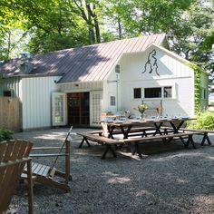 Patio | Omena Michigan | Cherry Basket Farm | Epicure Catering