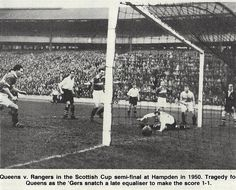 Rangers 1 Queen of South 1 in April Eddie Rutherford scores a late equaliser for Rangers in the Scottish Cup Semi Final. Rangers Football, Rangers Fc, Football Players, Hampden Park, Paisley Scotland, Football Pictures, Semi Final, Glasgow, Finals