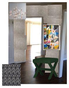 kw - bungalow, ballard, hippie by ellie-mroz on Polyvore featuring interior, interiors, interior design, home, home decor and interior decorating