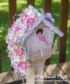 A Mermaids Crafts: Anything But Cute August Challenge - Shabby Garden