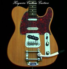 """Haywire Custom Shop Nashville + Bigsby + '52 Re-Issue Custom Shop Neck.Alder Telecaster Body Modified with a Treble Bleed and a Heel Crest Option also included with a 7.25 """" Radius Rosewood Fretboard and Gloss Finished NECK http://www.haywirecustomguitars.com"""