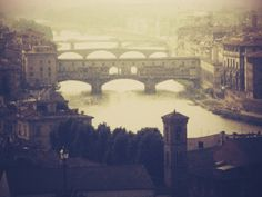 Tonight I'm dreaming of: Firenze.I wanna go back there someday...