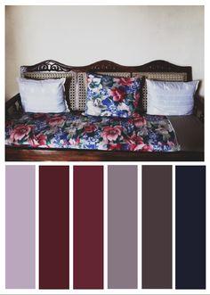 Tela floral de sillón