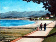 Paseo por La Isla. Asturias Golf Courses, Heels, Outdoor Decor, Scenery, Walks, Exhibitions, Islands, Heel, High Heel
