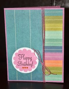 Happy Birthday card by Darla Weber #WRMK
