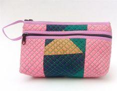 valentines gift ZIP TOP & SIDE ZIP multi colours pinks green SILK purse wristlet Vintage Designs, Retro Vintage, Bird Patterns, Lady Grey, Beaded Top, Green Silk, Green Turquoise, Hippie Bohemian, Silk Fabric