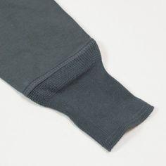 Merz b. Schwanen - Navy blue heavy cotton long-sleeve 206 Henley
