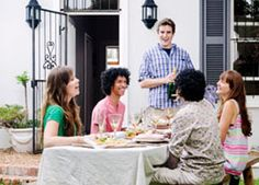 A potluck is a meal in which each guest brings a dish prepared at home and then gather at one place to enjoy it. While organizing a potluck meal, you need to set a theme too.