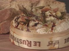 Baked Camembert with Garlic & Rosemary   Jamie Oliver - YouTube