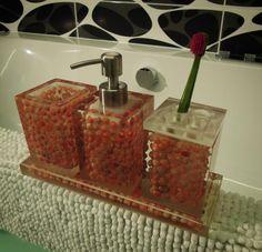 Red Saga Bathroom Set VOL 2
