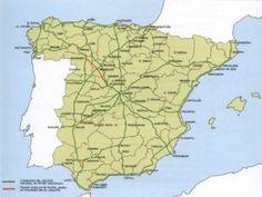Mapa Carreteras Secundarias