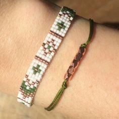 Bead Loom Bracelet Miyuki Delica Bracelet by TheBohoMinimalist