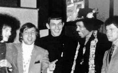 Jimi Hendrix meets Mr. Spock 1960s