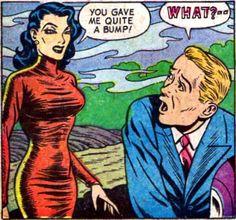 From Weird Terror Comics # 1, 1952 by Felix_Nine, via Flickr
