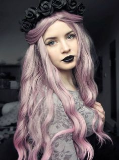 Image result for female models with colored hair