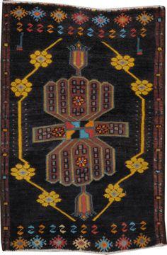 Vintage Kurdish Rug, No. 19086 - from Galerie Shabab