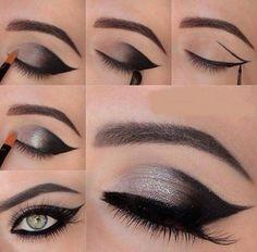 Imagem de makeup, eyes, and make up
