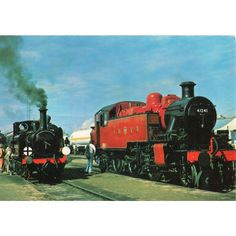 Dennis Postcard LMS 2-6-2 Cl.2MT no 41241 & LB&SCR 0-6-0T A1X Class Fenchurch Listing in the Rail,Transportation,Postcards,Collectables Category on eBid United Kingdom | 148945821