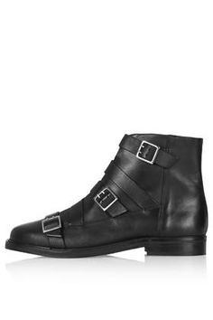 ANGER Multi Buckle Boots