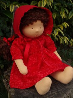 Hey, I found this really awesome Etsy listing at http://www.etsy.com/listing/122069857/waldorf-doll-16-chestnut-brown-hair