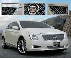 2013 Cadillac XTS Classic 2PC Heavy Mesh Style Grille. Call for part number: 1001-0104-13. Please note that this part will not fit the 2013 XTS Platinum Trim- for Platinum trim – use E 1001-0104-13P.