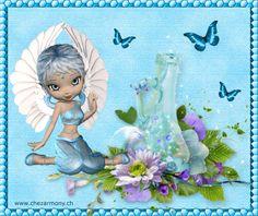 Tag d'été animé 2 - Créations Armony Fairy Music, Faeries, Tinkerbell, Enchanted, Cinderella, Disney Characters, Fictional Characters, Creations, Cartoon