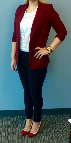 Black, white and maroon with some gold flare!