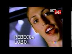 LISA LESLIE AND REBECCA LOBO WNBA PROMO 1997
