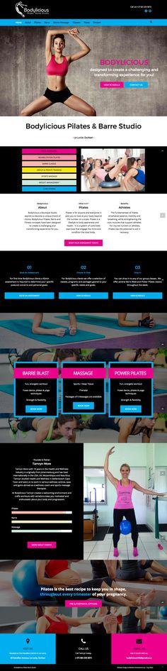 Bodylicious Pilates Studio Website  Website Design & Development by 1 Day Webs (http://www.1daywebs.com/)