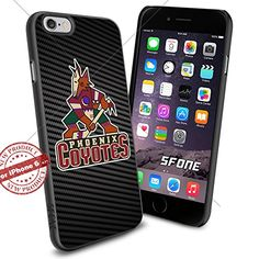 Phoenix Coyotes Carbon NHL Logo iPhone 6 4.7 inch Case Protection Black Rubber Cover Protector ILHAN http://www.amazon.com/dp/B01BEQ0FJO/ref=cm_sw_r_pi_dp_eDASwb09W7FKC