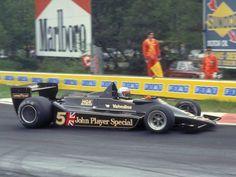 Another shot of Mario Andretti's 1978 F1 Championship winning Lotus Cosworth.