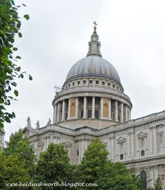 DUNHAVEN PLACE: The Gorgeous Amazing Awe-Inspiring Architecturally Delicious St. Paul's Cathedral