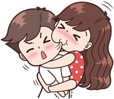 This love for you, send your love to your couple. It's so cute >. Cute Chibi Couple, Love Cartoon Couple, Cute Couple Comics, Cute Couple Art, Cute Love Cartoons, Anime Love Couple, Cute Anime Couples, Cute Comics, Cute Love Pictures
