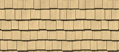 "Cedar Impressions® Double 7"" Staggered Perfection Shingles - Shake & Shingle Siding - Vinyl Siding & Polymer Shakes - CertainTeed"