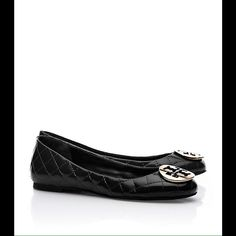 9b454b0f4 Tory Burch Quinn Quilted Patent Ballet Flat Tory Burch Flats