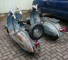 V lovers Vespa Vbb, Piaggio Vespa, Lambretta Scooter, Vespa Scooters, Vintage Vespa, Vintage Italy, Classic Vespa, Scooter Custom, Motor Scooters