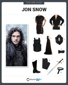 Rise to greatness as Jon Snow, Ned Stark's bastard son in HBO series Game of Thrones played by Kit Harington