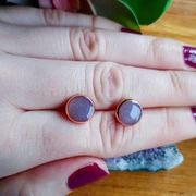 Unique handmade jewelry from St. Fall Jewelry, Blush Roses, Gold Studs, Gemstone Rings, Handmade Jewelry, White Gold, Drop Earrings, Pink, Pink Roses