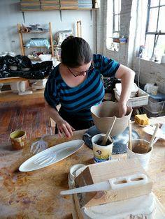 Naomi Cleary, Melt My Heart ceramics blog