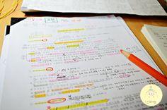 [대학생 공부블로그/일상] 기말고사 공부 / 노트 필기 / 프린트 필기 / 동화 일러스트 / 동서양 미술사 : 네이버 블로그