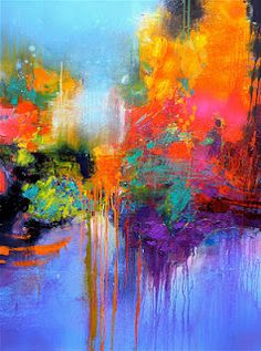 Abstract Painting -Gérard Stricher