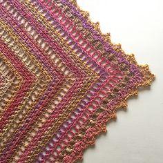 Ravelry: Taiga shawl pattern by Johanna Lindahl
