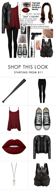 """Untitled #513"" by skh-siera18 ❤ liked on Polyvore featuring Elisabeth Weinstock, Wolford, WearAll, Converse, Lime Crime, Zizzi, All Black, Jas M.B. and Golf Wang"