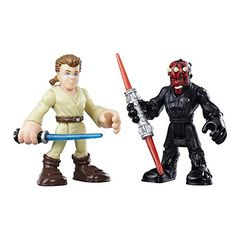 Playskool Star Wars Galactic Heroes Solo Sith Darth Maul w// Speeder
