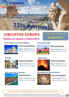 Ofertas Circuitos Europa. Salidas Agosto y Septiembre. ultimo minuto - http://zocotours.com/ofertas-circuitos-europa-salidas-agosto-y-septiembre-ultimo-minuto/