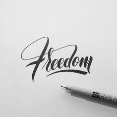 Instagram: 'Freedom' by @type.gang